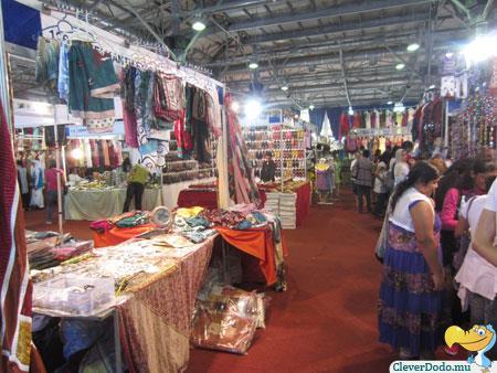 asian expo stalls