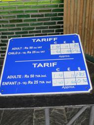 MGG tariff