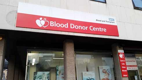 luton blood donor centre